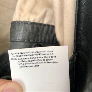 Hugo Boss Jackets & Coats - Hugo Boss Lambskin Leather Bomber Jacket